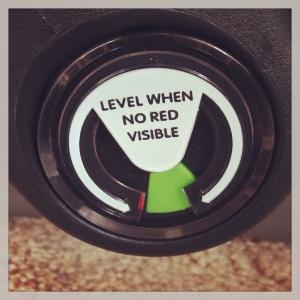 mesa level indicator