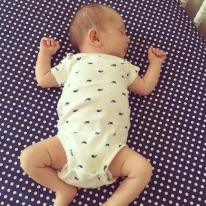 onesie nap