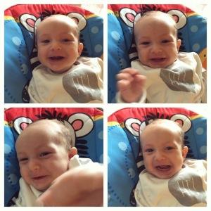 smiling montage