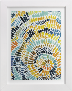 minted spiral art