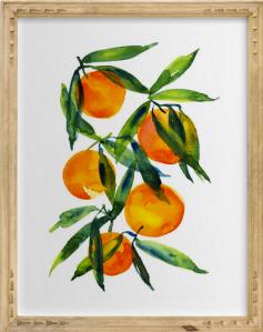 minted tangerine