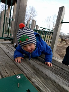 connor on playground