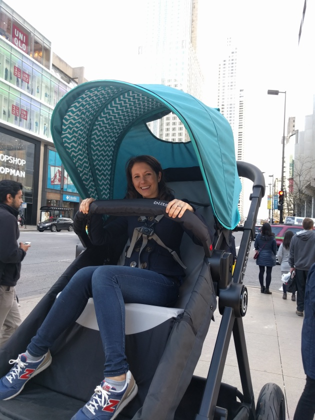 Yes, moms of the world, riding in a stroller really is as awesome as we have always wondered.