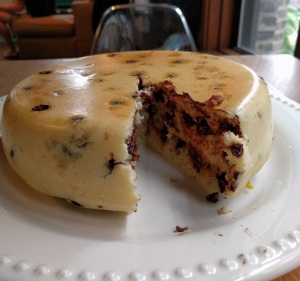 Pancake Cake Sliced
